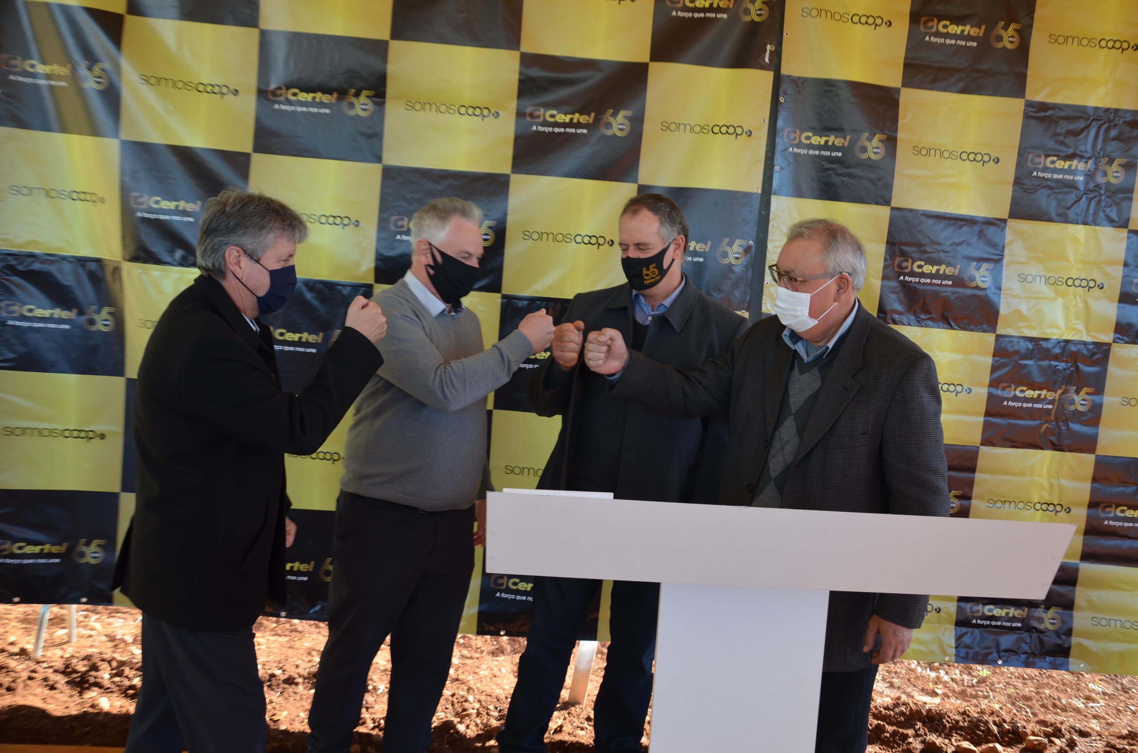 Investimento marca intercooperação entre Certel e Sicredi