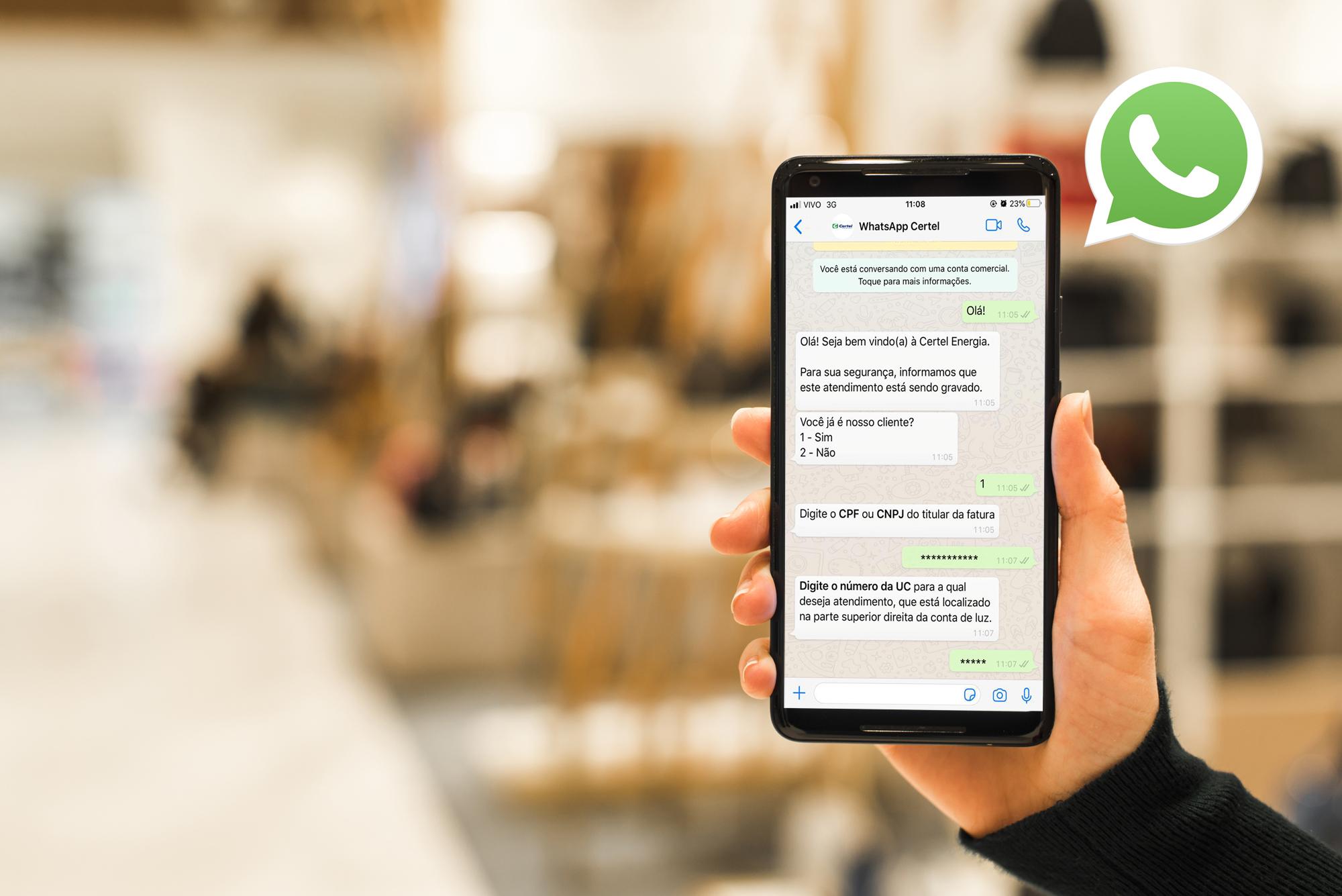 Certel disponibiliza WhatsApp e institui  assinatura digital para alavancar atendimento
