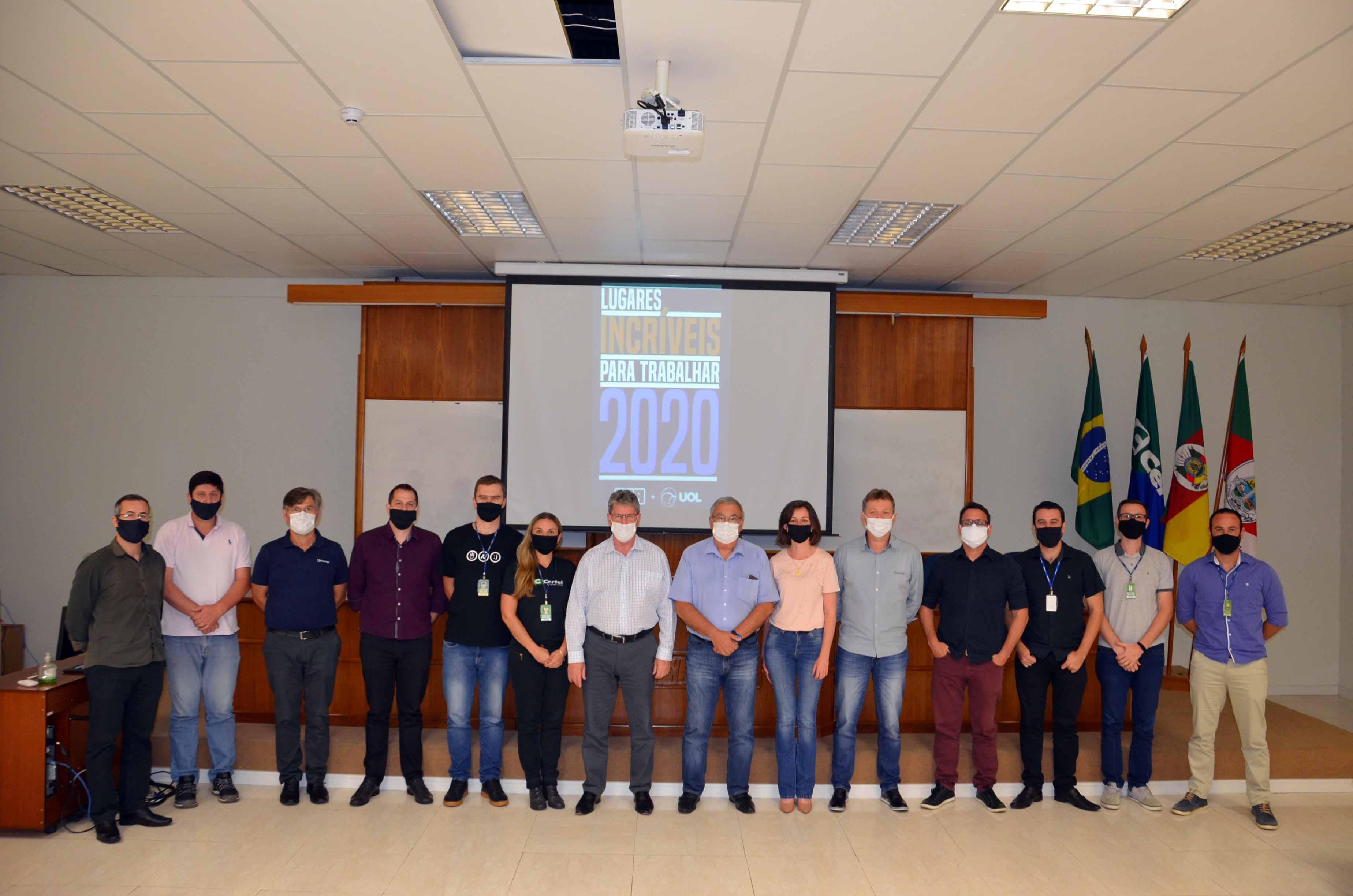 Certel entre os 40 lugares mais incríveis para se trabalhar no Brasil