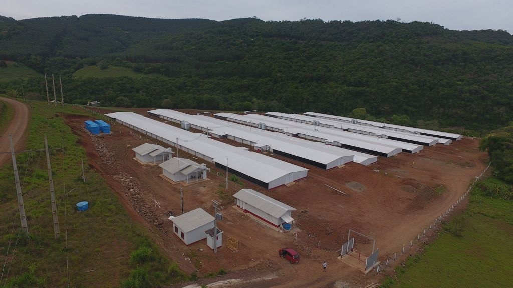 Primeiro condomínio avícola de Marques de Souza desenvolverá agronegócio regional