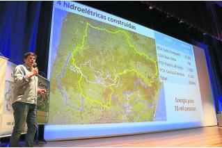 Futuros engenheiros ampliaram conhecimento sobre geração hidrelétrica