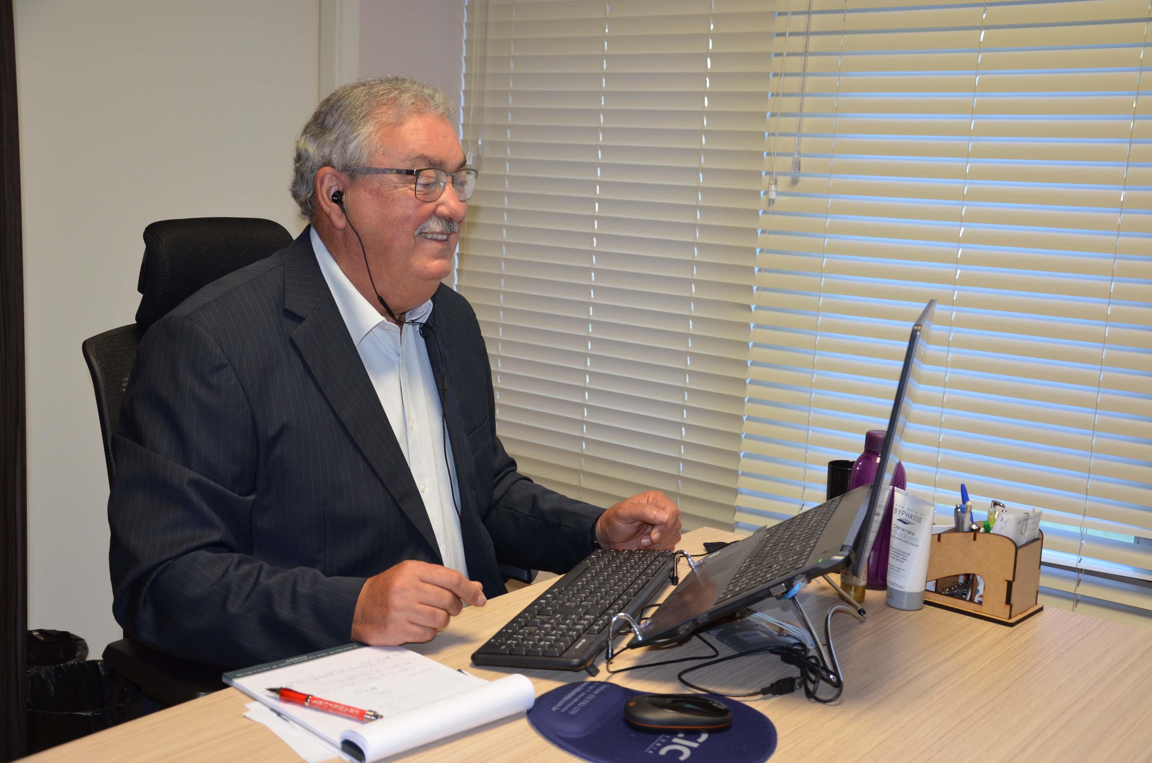 Presidente da Certel, Erineo José Hennemann