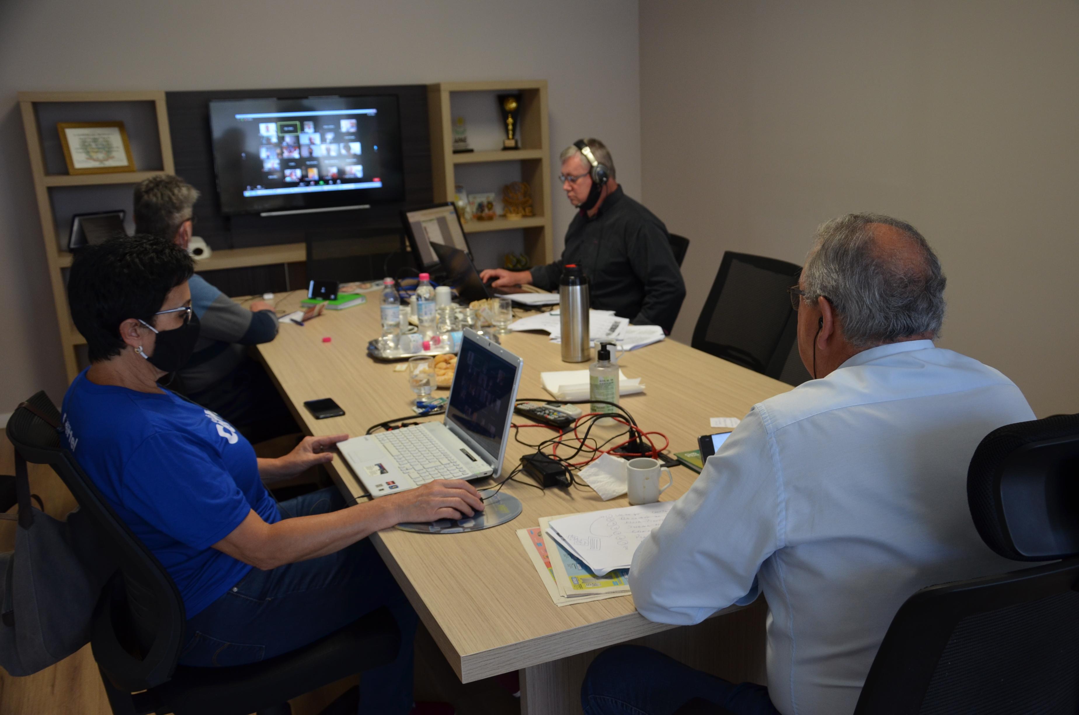 Reunião digital da Certel com delegados e suplentes foi um sucesso