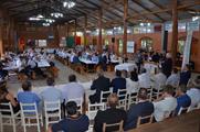 Celebração reuniu autoridades locais, regionais e estaduais, associados e colaboradores da cooperativa.