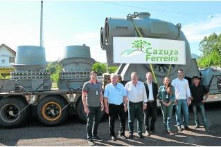 Hidrelétrica Cazuza Ferreira recebe turbinas