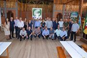 Colaboradores também estiveram presentes no lançamento do projeto da Hidrelétrica Vale do Leite
